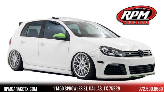 2013 Volkswagen Golf R w Sunroof & Nav, Bagged with Many Upgrades
