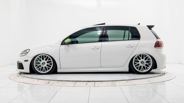 2013 Volkswagen Golf R w Sunroof & Nav, Bagged with Many Upgrades in Dallas, TX 75229