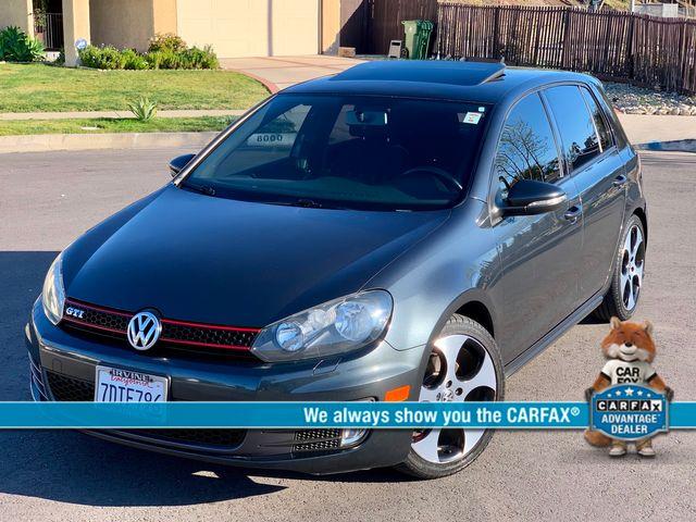 2013 Volkswagen GTI W/CONV. SUNROOF XENON SERVICE RECORDS