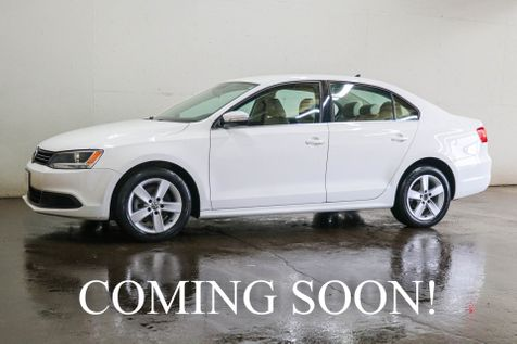 2013 Volkswagen Jetta TDI Clean Diesel Luxury Sedan with Heated Seats, Bluetooth Audio and Gets 40+ MPG in Eau Claire