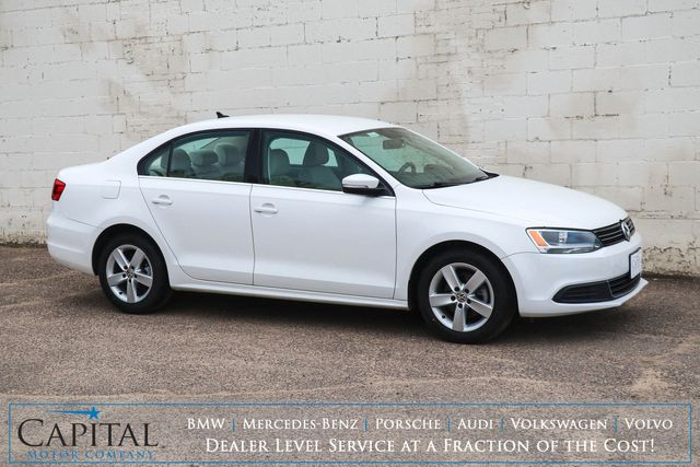 2013 Volkswagen Jetta TDI Clean Diesel with Heated Seats, Satellite Radio, Bluetooth Audio and Gets 40+ MPG in Eau Claire, Wisconsin 54703