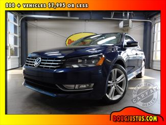 2013 Volkswagen Passat TDI SE w/Sunroof Nav in Airport Motor Mile ( Metro Knoxville ), TN 37777