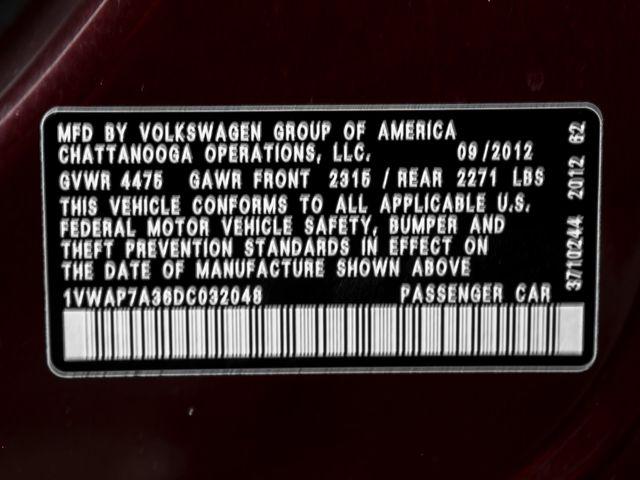 2013 Volkswagen Passat S Burbank, CA 24