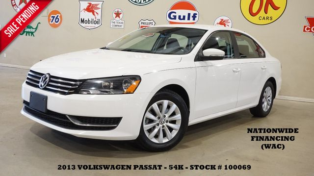 2013 Volkswagen Passat S w/Appearance AUTO,BLUETOOTH,CLOTH,54K