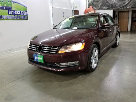 2013 Volkswagen Passat TDI SEL Premium in Dickinson, ND