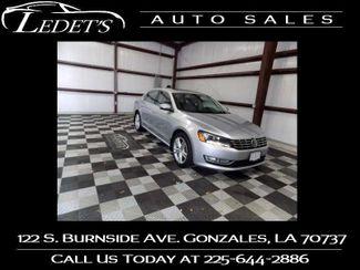 2013 Volkswagen Passat TDI SE w/Sunroof & Nav - Ledet's Auto Sales Gonzales_state_zip in Gonzales