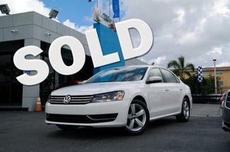 2013 Volkswagen Passat SE Hialeah, Florida