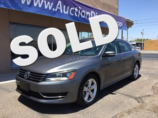 2013 Volkswagen Passat SE w/Sunroof and Navigation 5 YEAR/60,000 MILE FACTORY POWERTRAIN WARRANTY Mesa, Arizona