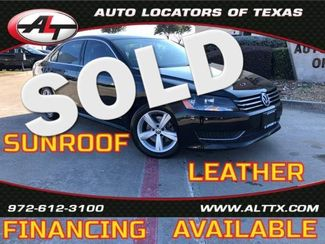 2013 Volkswagen Passat SE w/Sunroof | Plano, TX | Consign My Vehicle in  TX