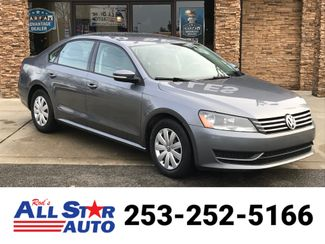 2013 Volkswagen Passat 2.5 S in Puyallup Washington, 98371