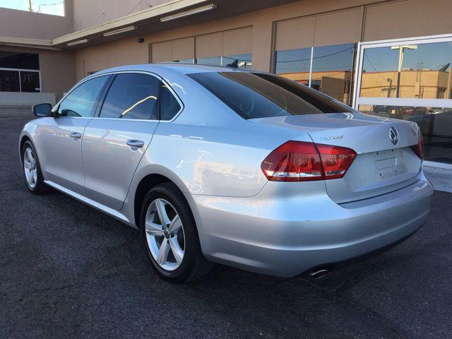 2013 Volkswagen Passat SE 3 MONTH/3,000 MILE NATIONAL POWERTRAIN WARRANTY Mesa, Arizona 2