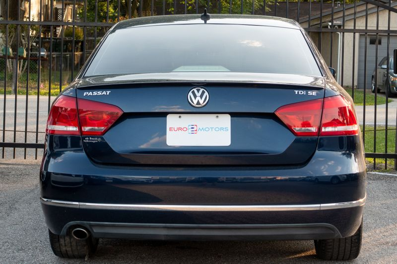 2013 Volkswagen Passat TDI SE wSunroof and Nav   Texas  EURO 2 MOTORS  in , Texas
