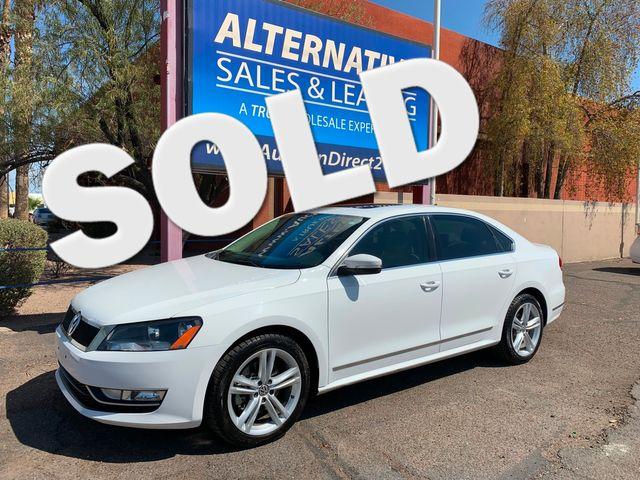 2013 Volkswagen Passat TDI SEL Premium 3 MONTH/3,000 MILE NATIONAL POWERTRAIN WARRANTY Mesa, Arizona