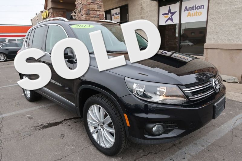 2013 Volkswagen Tiguan SE | Bountiful, UT | Antion Auto in Bountiful UT