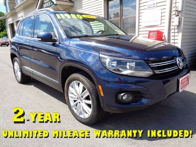 2013 Volkswagen Tiguan SE in Brockport NY, 14420