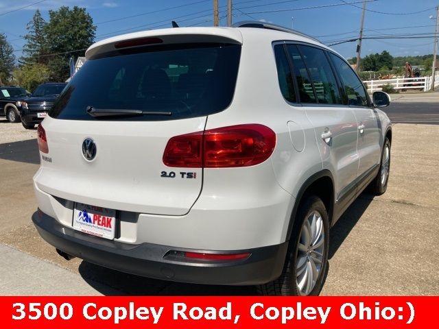 2013 Volkswagen Tiguan SE in Medina, OHIO 44256
