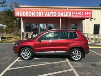 2013 Volkswagen Tiguan SE w/Sunroof & Nav   Myrtle Beach, South Carolina   Hudson Auto Sales in Myrtle Beach South Carolina