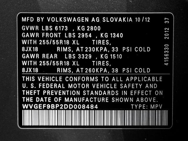 2013 Volkswagen Touareg Sport Burbank, CA 29