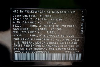 2013 Volkswagen Touareg Executive AWD 3.0L TDI Diesel Sealy, Texas 77