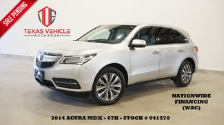 2014 Acura MDX Tech Pkg AWD ROOF,NAV,BACK-UP,HTD LTH,3RD ROW,67K in Carrollton, TX 75006