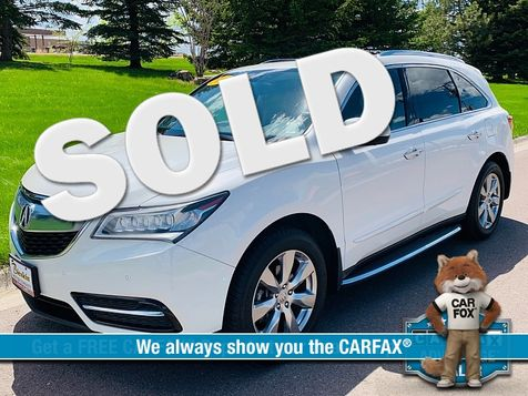 2014 Acura MDX 4d SUV AWD Advance w/Ent Pkg in Great Falls, MT
