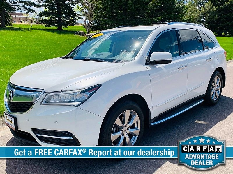 2014 Acura MDX 4d SUV AWD Advance wEnt Pkg  city MT  Bleskin Motor Company   in Great Falls, MT