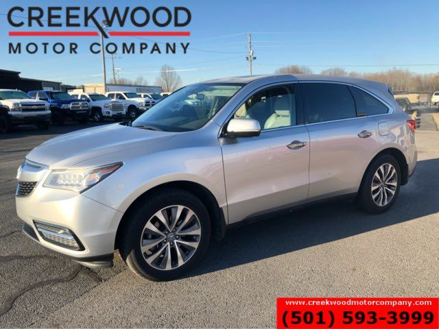 2014 Acura MDX Tech Nav Sunroof 1 Owner Leather New Tires CLEAN