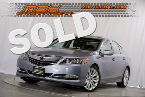 2014 Acura RLX Advance Pkg - Top of the line in Los Angeles