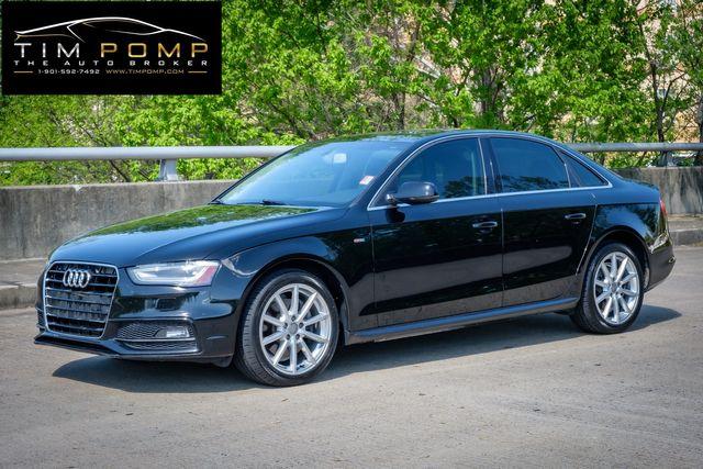 2014 Audi A4 Premium Plus SUNROOF LEATHER SEATS