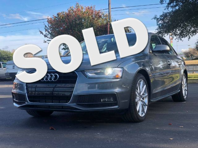 2014 Audi A4 Premium Plus in San Antonio, TX 78233