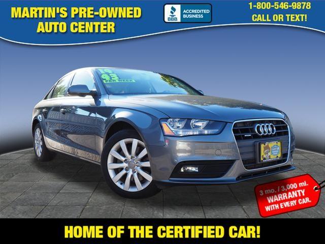2014 Audi A4 Premium | Whitman, Massachusetts | Martin's Pre-Owned-[ 2 ]