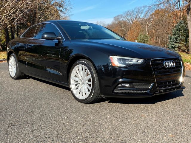 2014 Audi A5 Quattro PREMIUM PLUS 6SPD 70K MILES 2-OWNER BLK ON BLK in Woodbury, New Jersey 08096