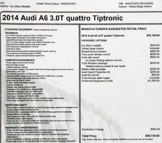 2014 Audi A6 3.0T Quattro in Alexandria VA