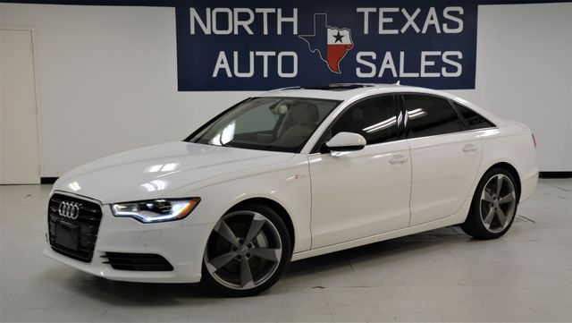 2014 Audi A6 3.0T Premium Plus ONE OWNER NAV SUNROOF