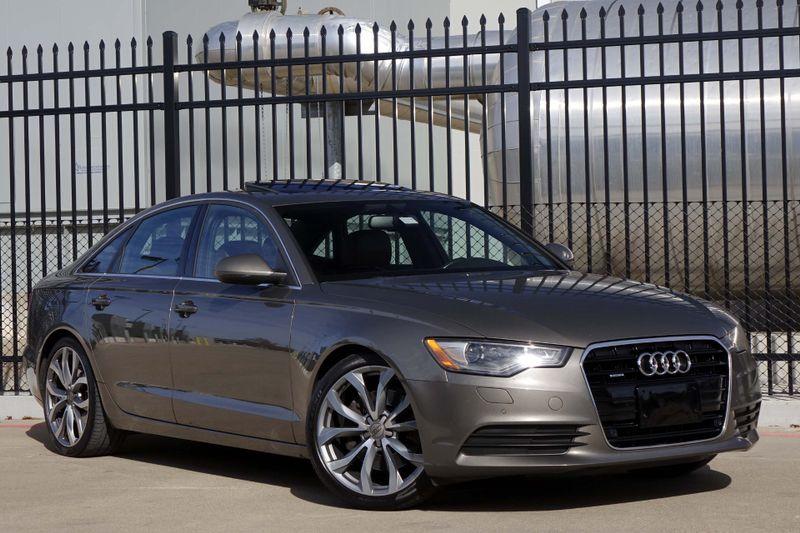 2014 Audi A6 2.0T Premium Plus* BU Cam* Nav** Sunroof* EZ Finan | Plano, TX | Carrick's Autos in Plano TX