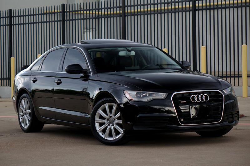 2014 Audi A6 2.0T Premium Plus*Nav*Sunroof**AWD* EZ Finance** | Plano, TX | Carrick's Autos in Plano TX