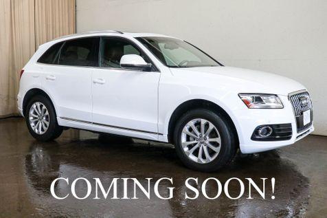 2014 Audi Q5 2.0T Premium Plus Quattro AWD w/Navigation, Panoramic Roof, Heated Seats & 2-Tone Interior in Eau Claire