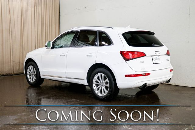 2014 Audi Q5 2.0T Premium Plus Quattro AWD Crossover with Heated Seats, Panoramic Moonroof and Keyless Start in Eau Claire, Wisconsin 54703