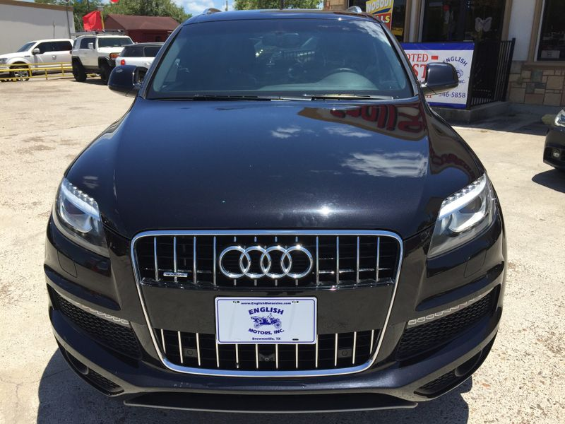 2014 Audi Q7 30T S line Prestige  Brownsville TX  English Motors  in Brownsville, TX
