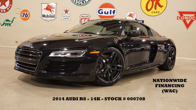 2014 Audi R8 Coupe V10 MSRP 174K,AUTO,NAV,BANG & OLUFSEN,HTD LTH,14K