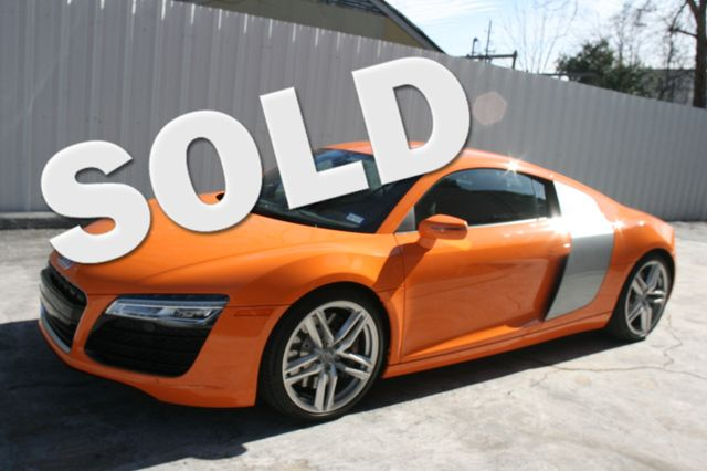 2014 Audi R8 Coupe V8 Houston, Texas 0