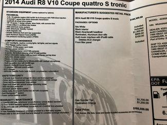 2014 Audi R8 Coupe V10 Scottsdale, Arizona 44