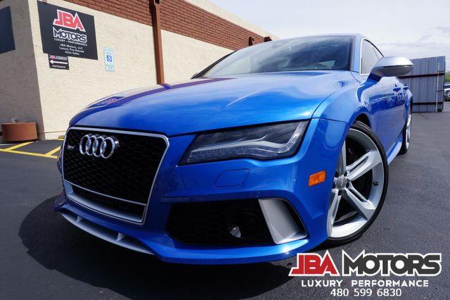 2014 Audi RS 7 Prestige Package RS7 SPRINT BLUE EXCLUSIVE COLOR   MESA, AZ   JBA MOTORS in Mesa AZ