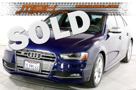 2014 Audi S4 Premium Plus - [ MANUAL ] - Sport Diff - B/O Sound in Los Angeles