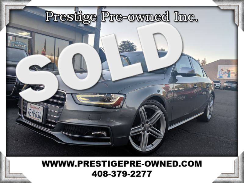 2014 Audi S4 PREMIUM PLUS ((**AWD//NAVI & BACK-UP CAM**))  in Campbell CA