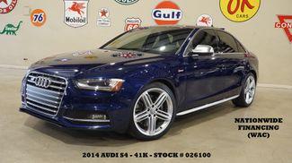 2014 Audi S4 Premium Plus ROOF,NAV,BACK-UP,HTD LTH,B&O SYS,41K in Carrollton TX, 75006