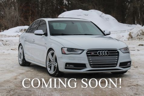 2014 Audi S4 Premium Plus 3.0T Quattro AWD w/Navigation,  Heated Seats, B&O Audio and Sport Differential in Eau Claire