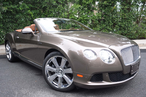 2014 Bentley Continental GT Convertible, As New! Only 5700 Miles! Factory Watrranty in , California