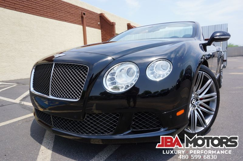 2014 Bentley Continental GT Speed GTC Convertible ~ SPEED ~ 1 Owner Clean CarFax!! | MESA, AZ | JBA MOTORS in MESA AZ