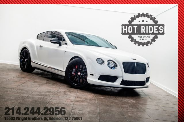 2014 Bentley Continental GT V8 S Mulliner Launch Edition